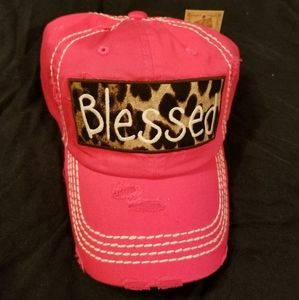 pink blessed cap
